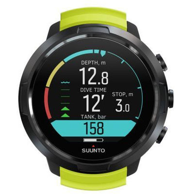 D5 Dive Computer Suunto D5 & Wireless Transmitter Lime