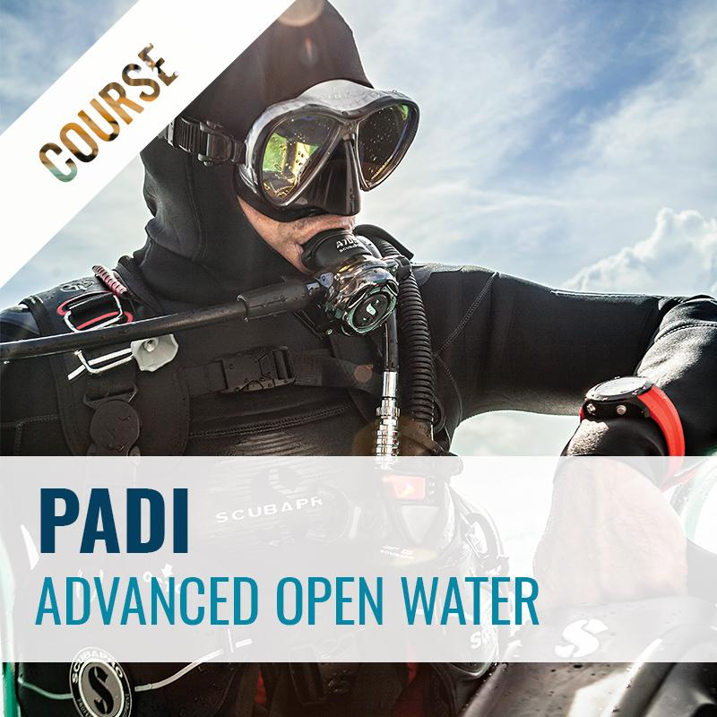 PADI Advanced Open Water Diver Course Course PADI