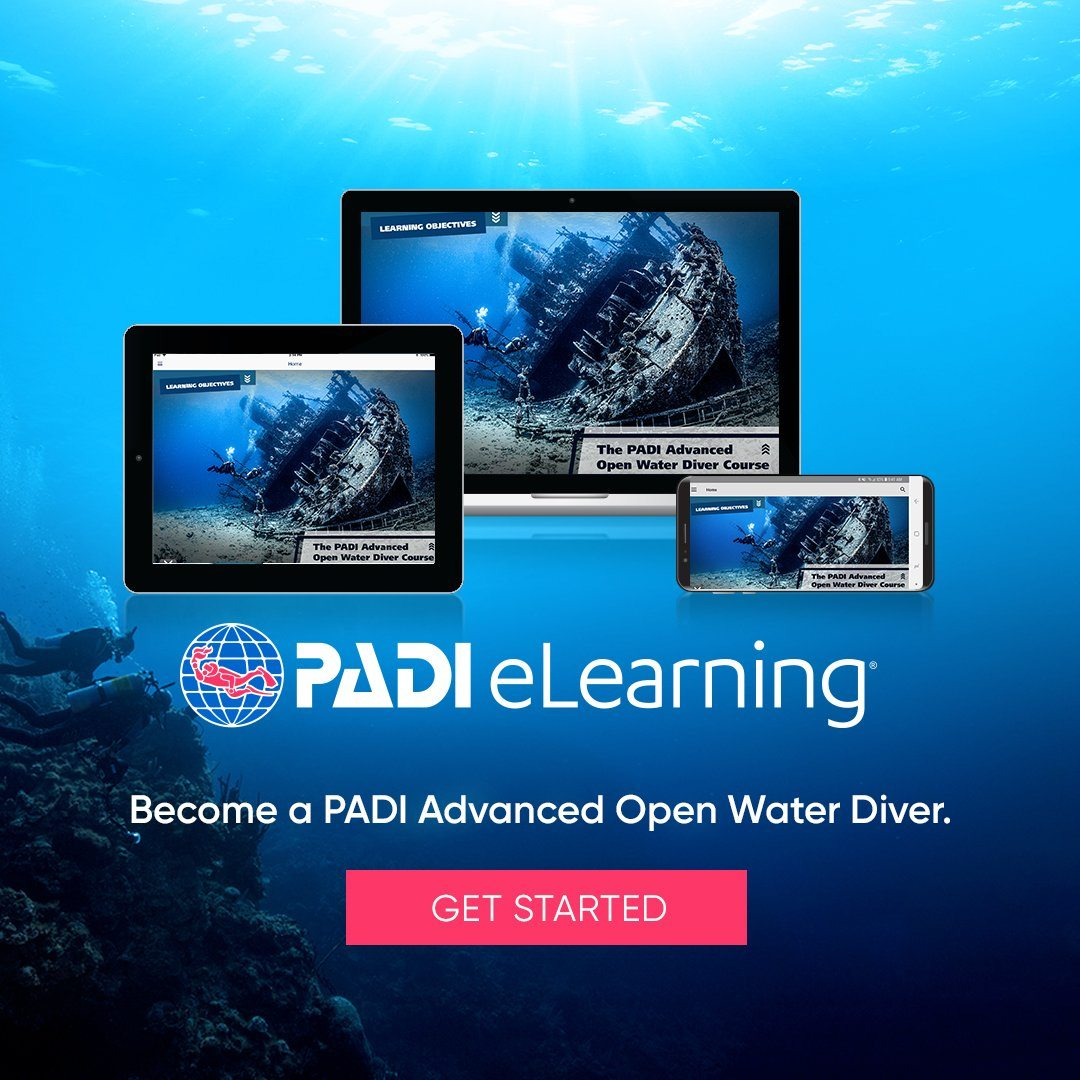 PADI Advanced Open Water Diver eLearning Course PADI