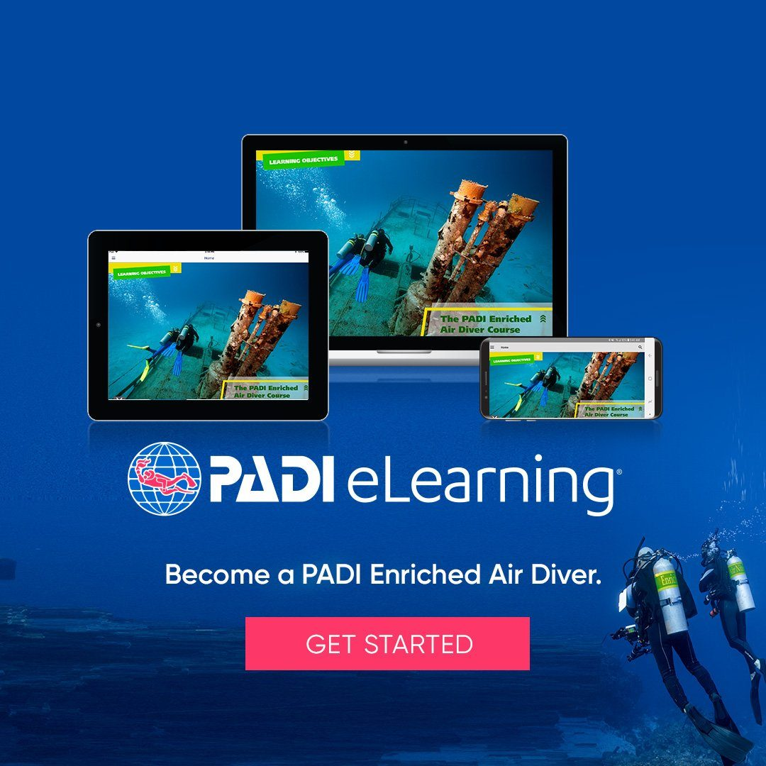 PADI Enriched Air eLearning Course PADI