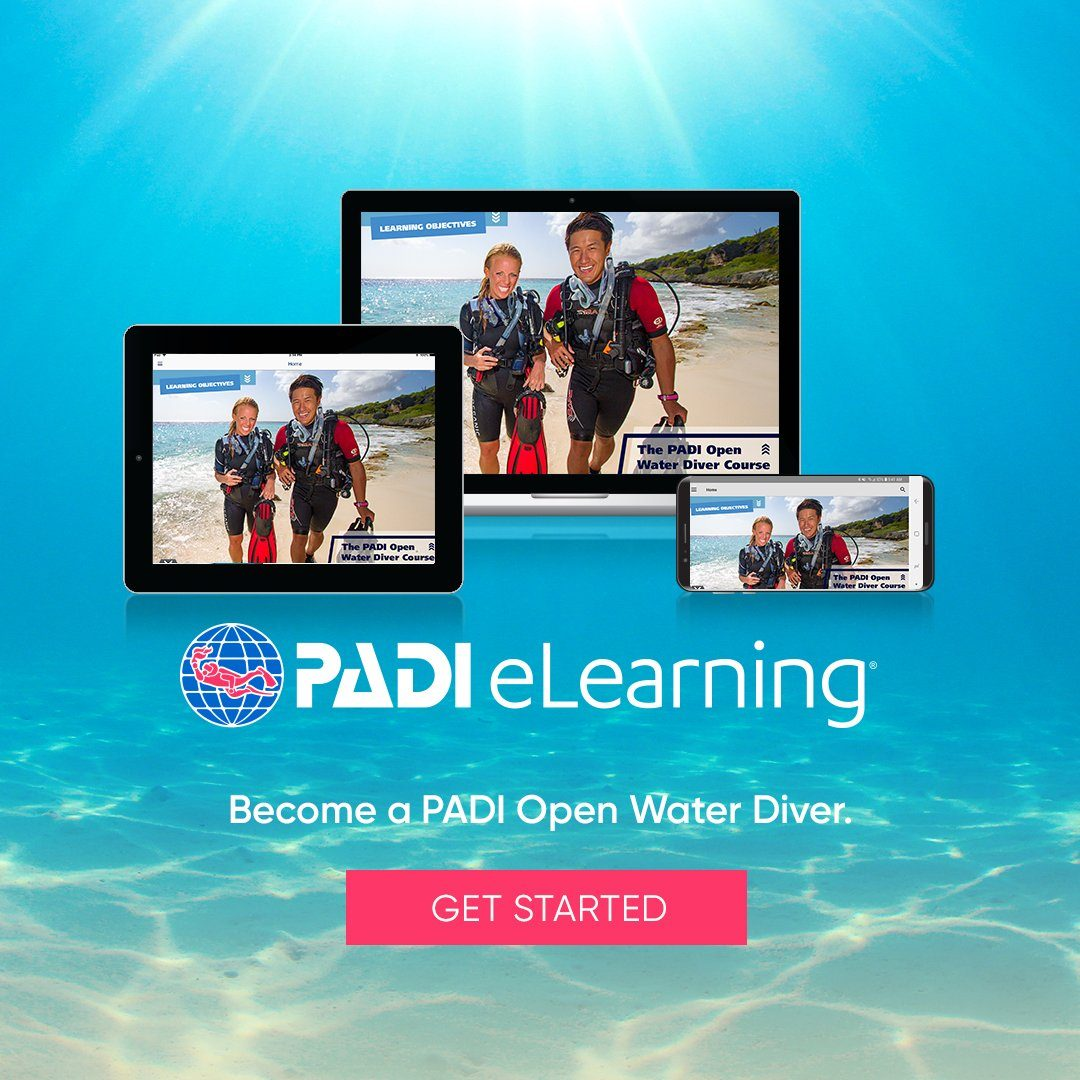 PADI Open Water Diver eLearning Course PADI