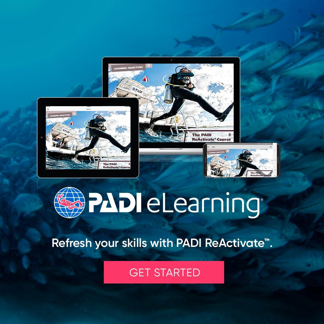 PADI ReActivate eLearning Course PADI
