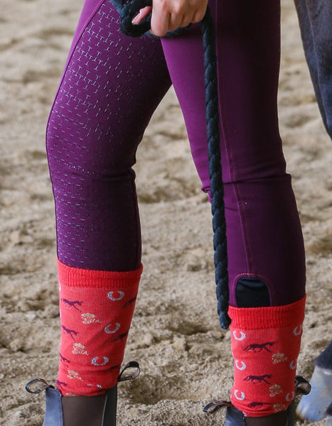 Socks Bridgette Equestrian Long