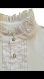 Cara Giddyup Ruffle Shirt - Cream (Ladies)