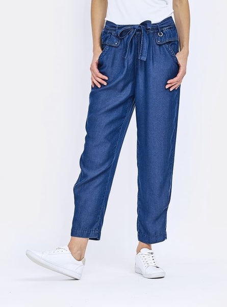 Denim Crop Pant