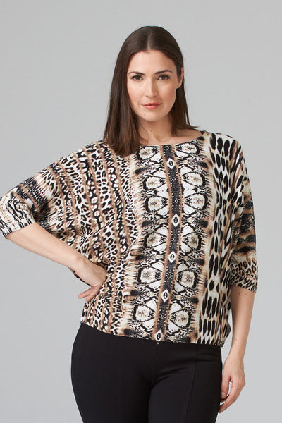 Animal Batwing Knit