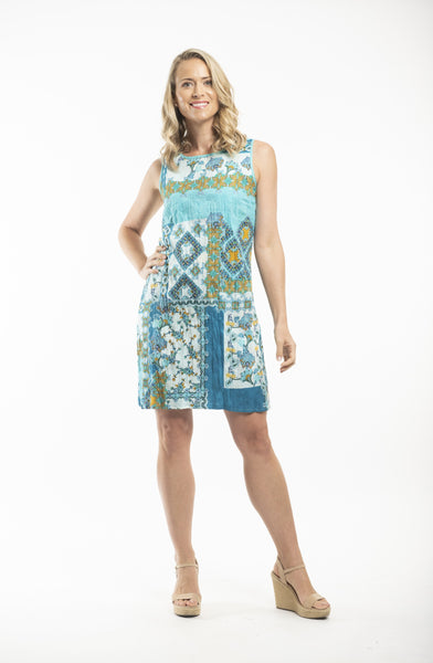 Oia Shift Dress