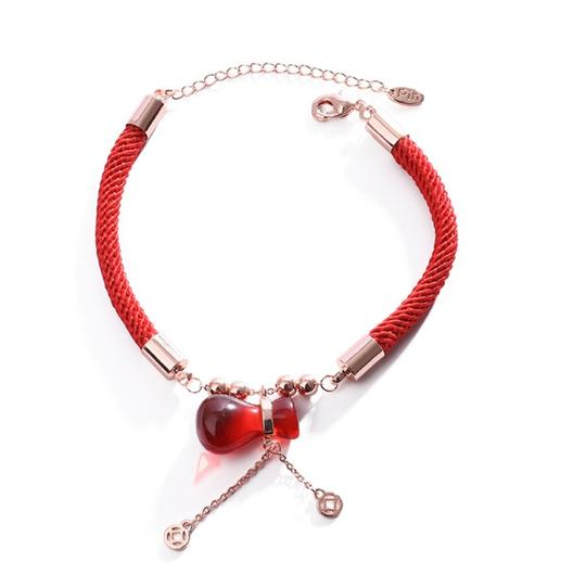 Lucky Red Money Bag Bracelet