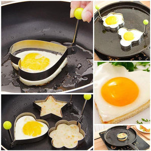 Stainless Steel Omelet Mold(5PCS)