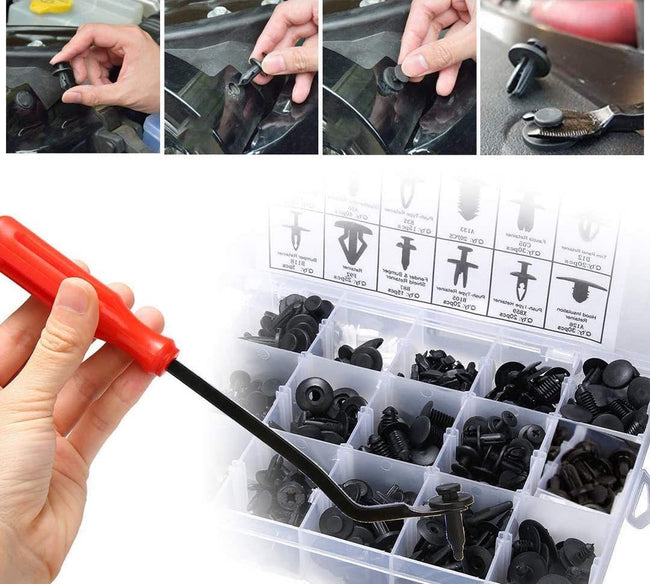 Retainer Clips Car Rivets Fasteners Kit (🎁 New Year Special Offer - 50% Off)