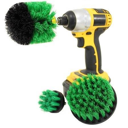 Power Scrubber Brush Set(3pcs/set)