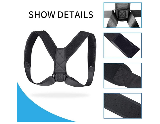 Posture Corrector (Adjustable to All Body Sizes)