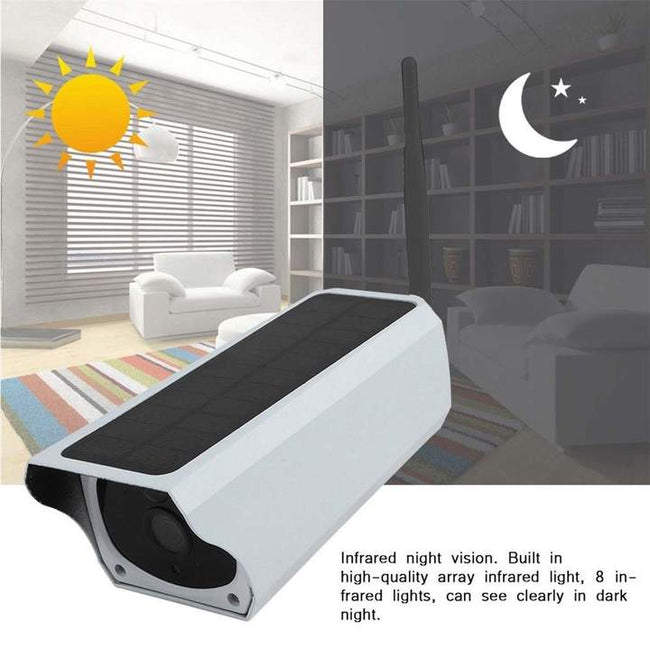 Outdoor Solar Battery Powered Security Camera,