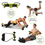 Double Wheel Home Gym Trainer
