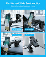 Buy Automatically Locking Windshield Phone Mount