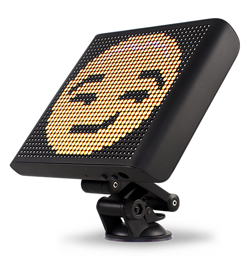 Voice Controlled Smart Car Emoji LED Display