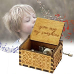 Wooden Theme Music Box
