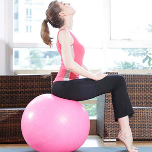 YOGA PILATES FITNESS BALL