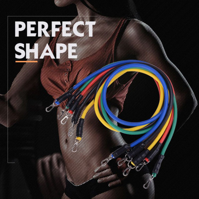 11Pcs Resistance Bands