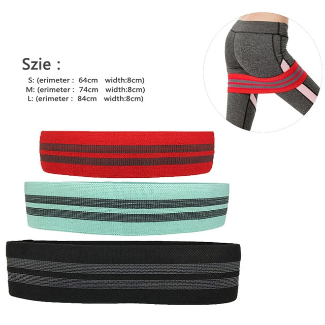 3pcs Pilates Resistance Bands