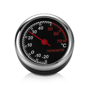 Mini Car Digital Clock Thermometer Hygrometer