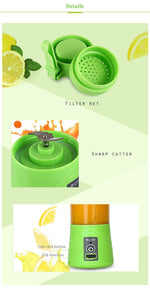 Portable USB Charging Blender & Juicer
