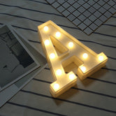 DIY LED Letter Lights
