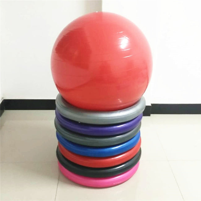 65CM Yoga Balls with Resistance Bands