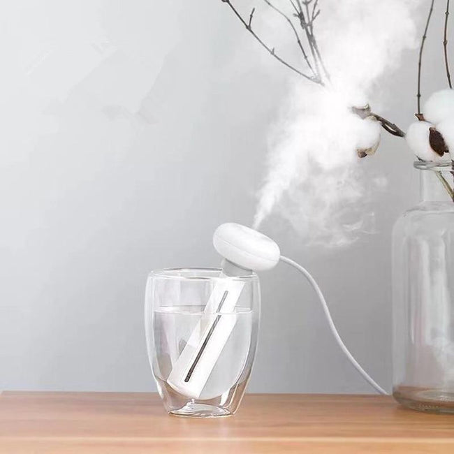White Dismountable Air Humidifier for Home and Office