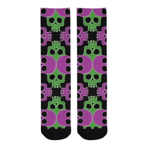 Skull Jigsaw GP Trouser Socks