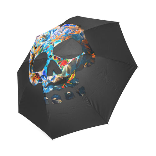 death flower Foldable Umbrella - Farrell Art