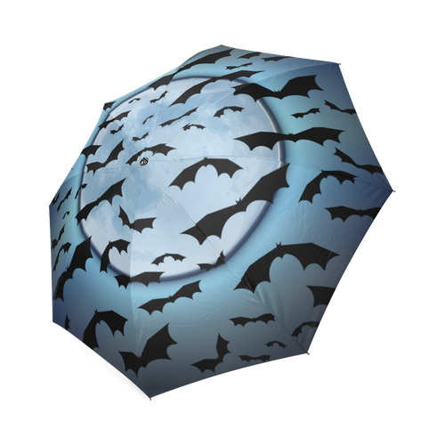 Bats in the Moonlight Foldable Umbrella Farrell Art