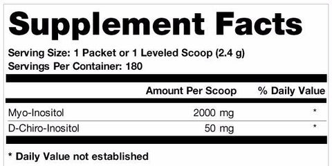 Ovasitol Inositol Powder (90 day supply)