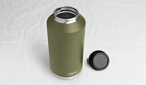 Yeti Rambler 64oz Bottle Olive Green Mineral Bluff Trading Co