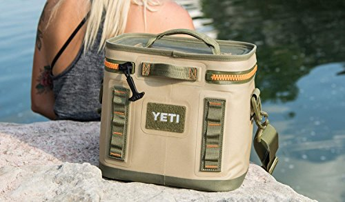029a23cda1 YETI Hopper Flip 8 Cooler Field Tan Blaze Orange – Mineral Bluff ...