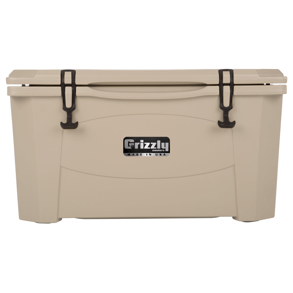 Grizzly 60 Tan Cooler Mineral Bluff Trading Co