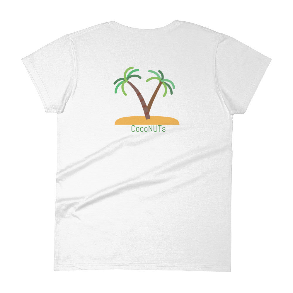 cocoNUTs Brand Women's short sleeve t-shirt