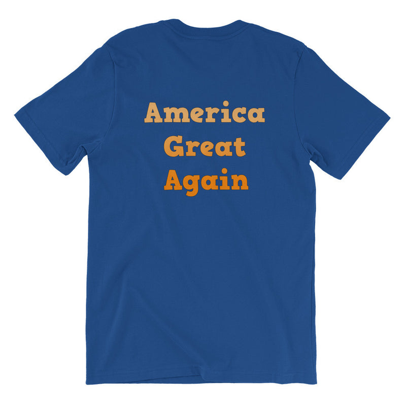 Trumps' Words America Great Again t-shirt Unisex short sleeve t-shirt