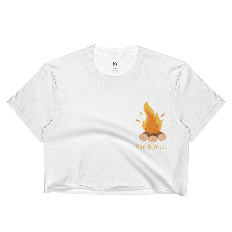 Fire & Wood Brand Ladies Crop Top Free Shipping