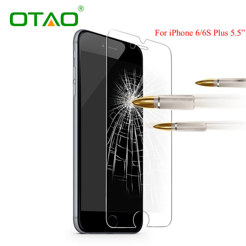 Tempered Glass Screen Protector Film For Apple iphone 6 6S Plus 5 5S 5C SE 4 4S HD anti-Scratch