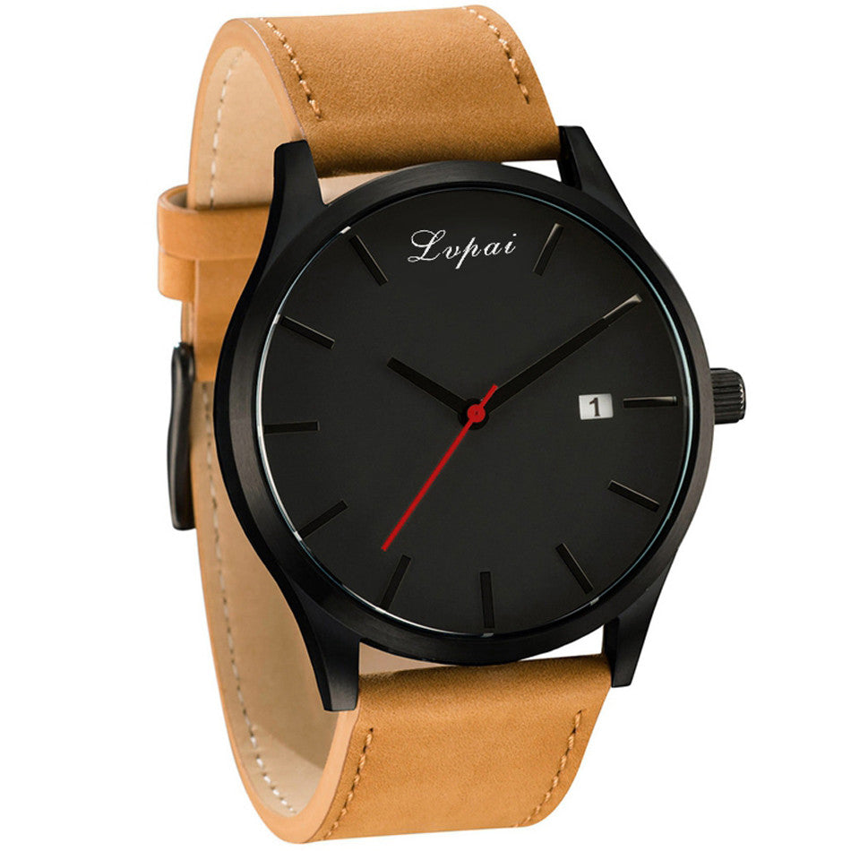 Men Women 2017 New Lvpai  Luxury Brand Leather Watch Quartz Watch
