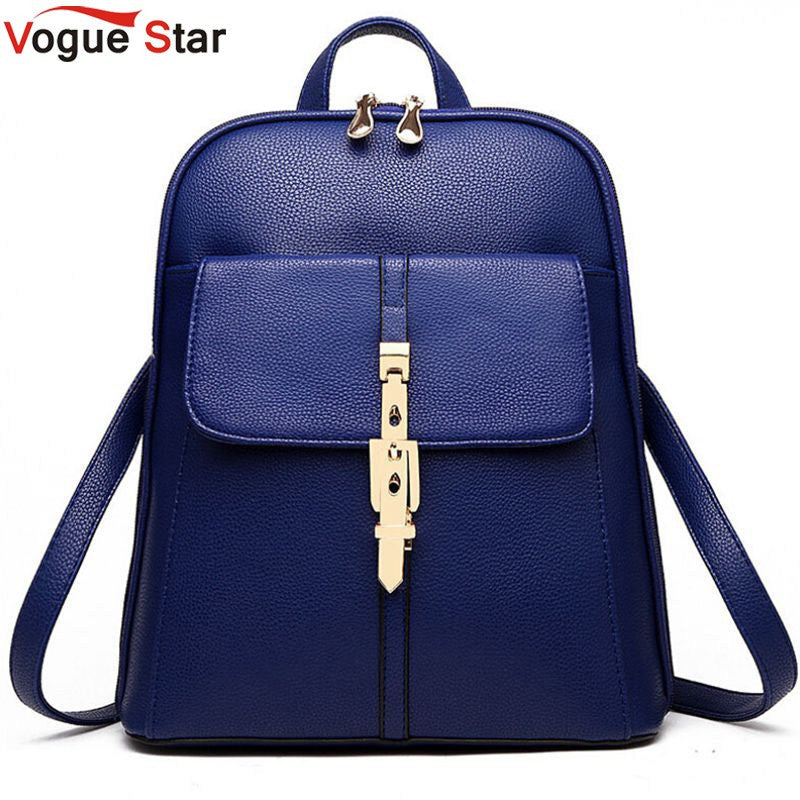 Vogue Star 2017 backpacks women backpack travel bags leather package