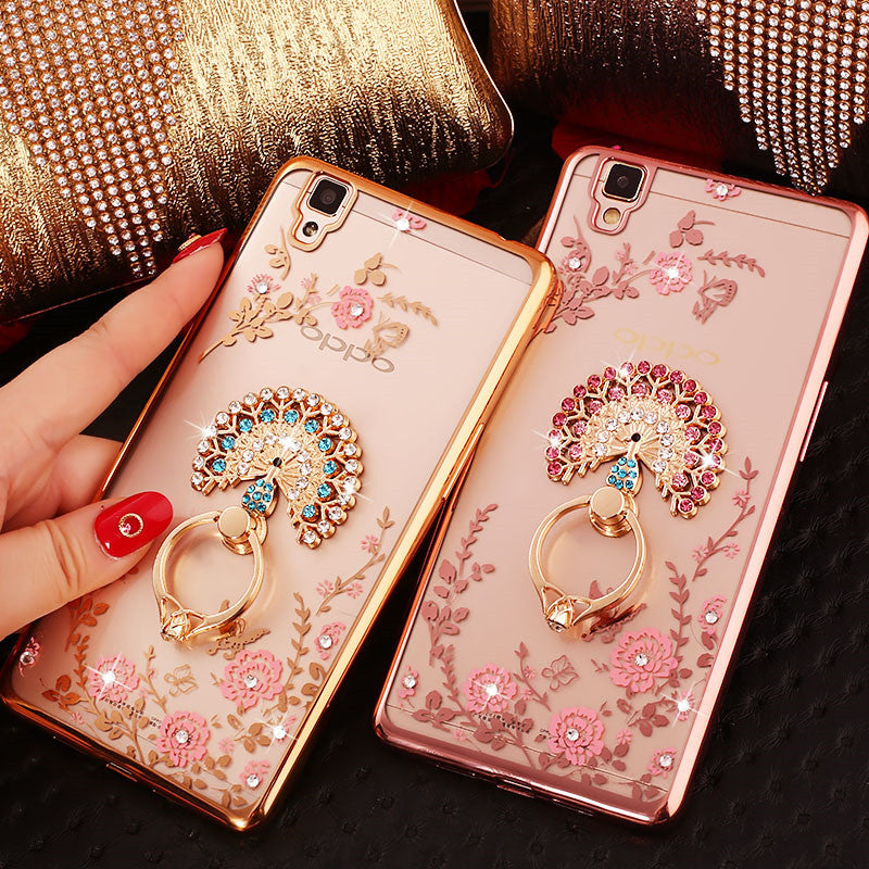 Diamond Theme Rhinestone handphone cover case ror OPPO