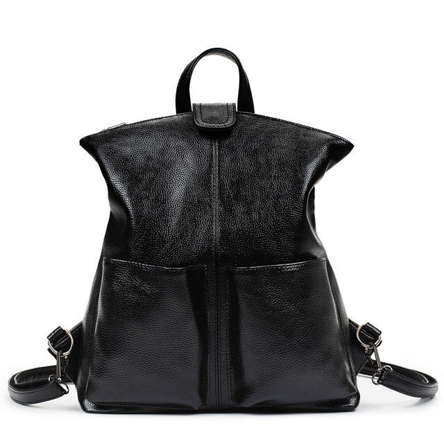 Women Backpack High Quality PU Leather Top-Handle Large Capacity