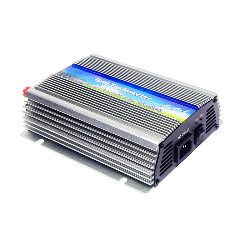 10.5-30Vdc 600W Solar Grid Tie Inverter Output 180-260Vac,Pure Sine Wave power inverter For Home Solar System