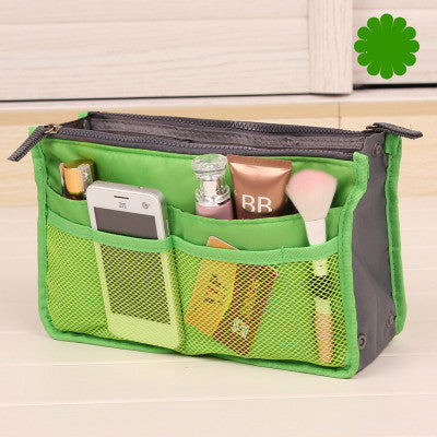 Cosmetic Organizer bag Double zipper Storage bag Multi-functional portable Makeup bag Women Men Travel