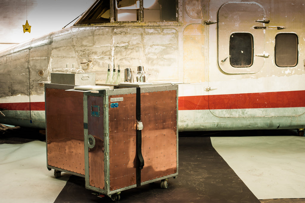 Copper Airline Trolley Bar Hire