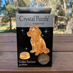 Crystal Puzzle Golden Retriever