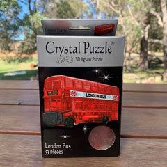 Crystal Puzzle London Bus