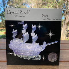 Crystal Puzzle Pirate Ship